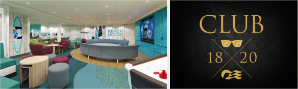 Caribbean Princess Refit Beach House & 1820